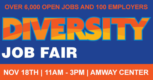 OrlandoJobs com Job Fair - July 26, 2019 at Amway Center